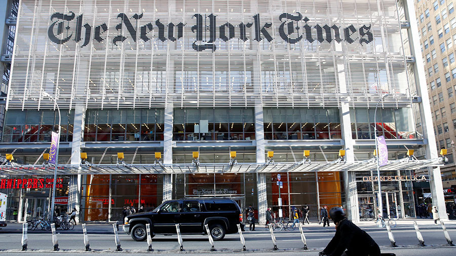 New York Times issues fake-news correction in article about fake news