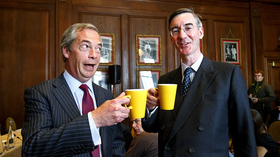 Margaret Thatcher's heir? Farage fantasizes over Rees-Mogg becoming next PM