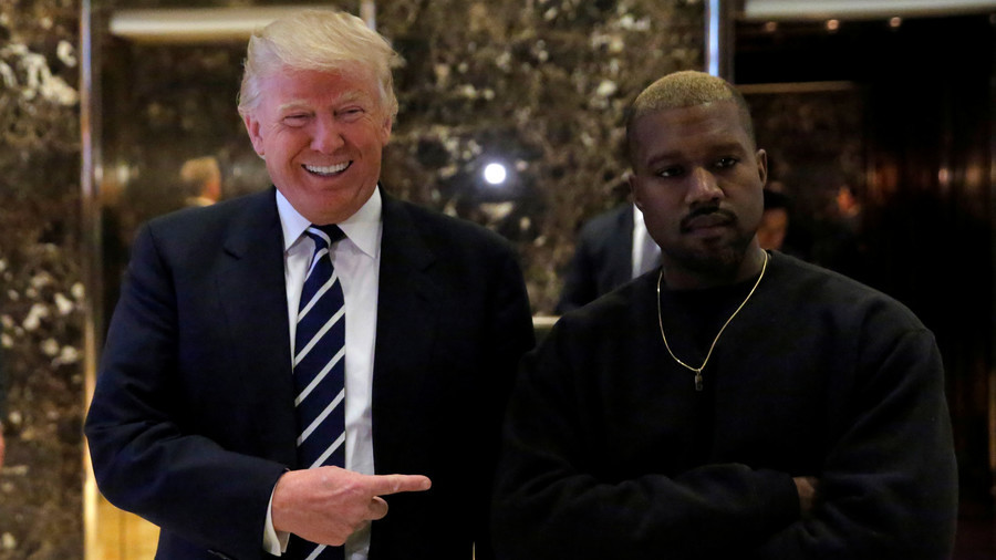 'Kanye is over': Fury after rapper tweets support for Trump