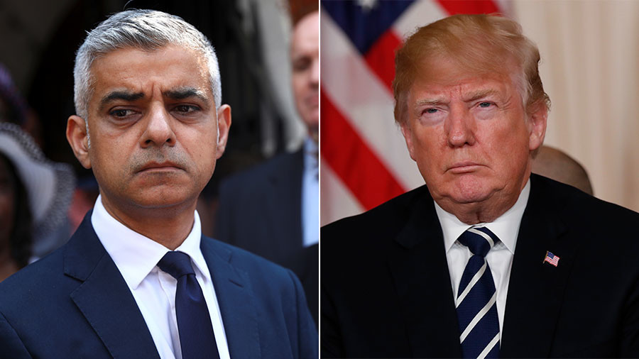 Sadiq Khan in fresh dig at Donald Trump ahead of United Kingdom  visit
