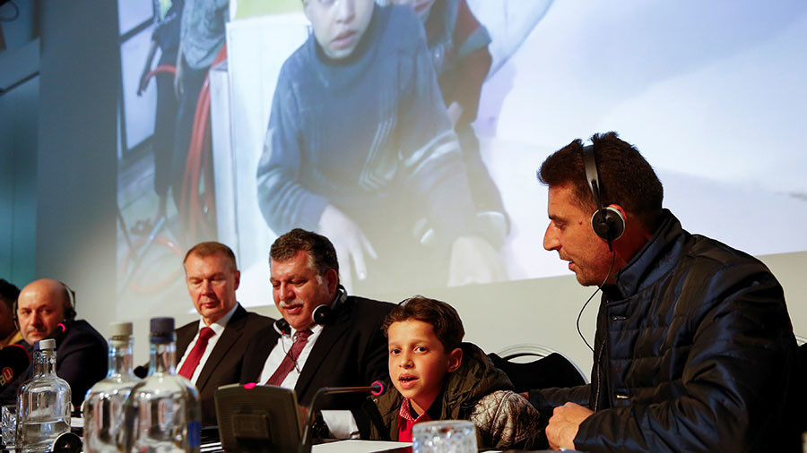 Douma 'attack' witnesses speak at Russia-called OPCW briefing at The Hague (VIDEO)