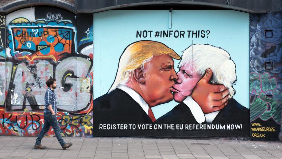 Gleeful Boris ecstatic over impending Trump visit as POTUS set to visit Queen