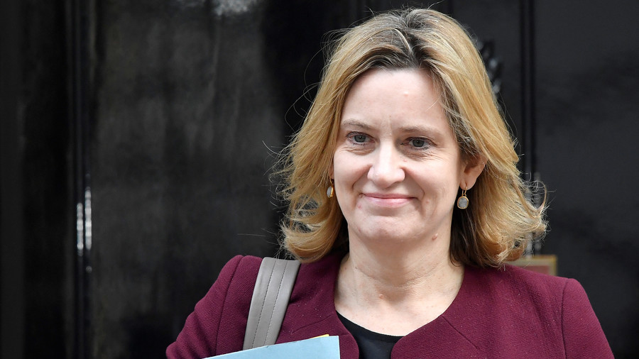 UK Home Sec. Amber Rudd rejects calls to resign over deportation target scandal
