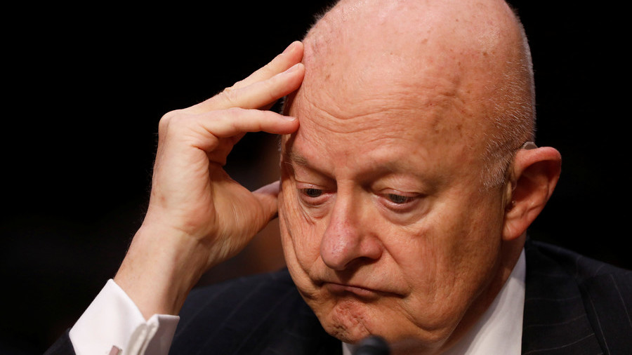 Trump calls James Clapper 'a lying machine'