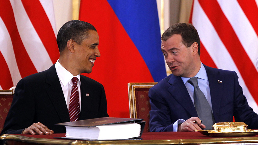 Economy 'in tatters?' Russian PM invites Obama to do fact check for himself
