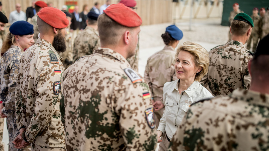 German Defense Minister von der Leyen wants ?12 billion more for Bundeswehr