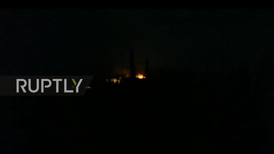 Military targets in Hama & Aleppo, Syria hit by missiles – state TV