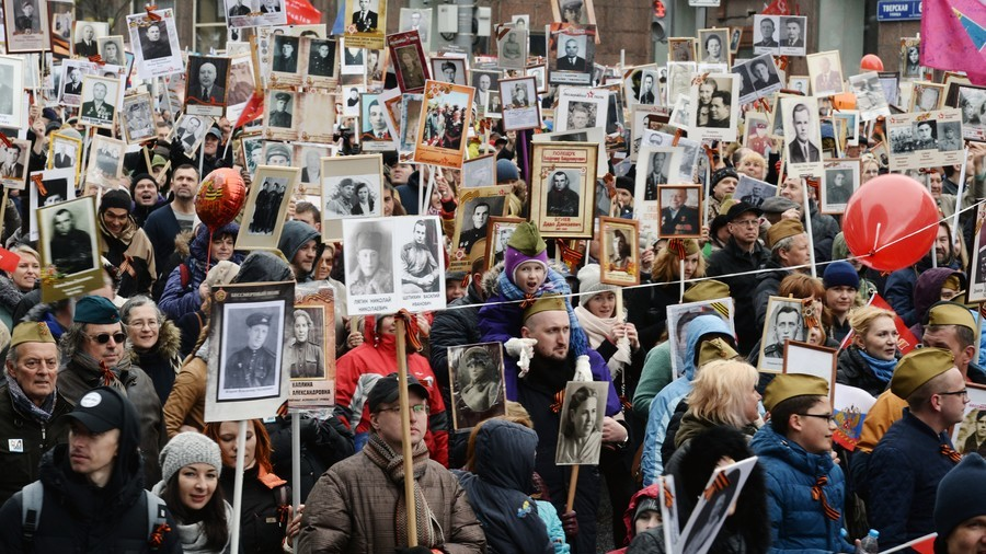 Our own Immortal Regiment: RT staff remember war hero relatives ahead of Victory Day (VIDEO)