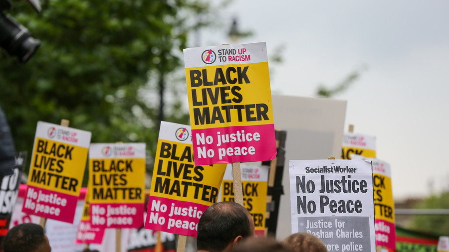 Black Lives Matter activist slams UK police after UN accuses nation of 'structural racism'  (VIDEO)