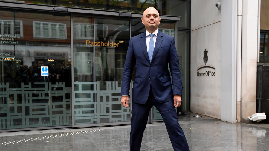 Pak-origin MP Sajid Javid appointed new United Kingdom home secretary