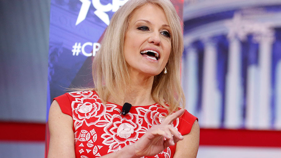 Kellyanne Conway denies claim she is White House's 'number-one leaker'