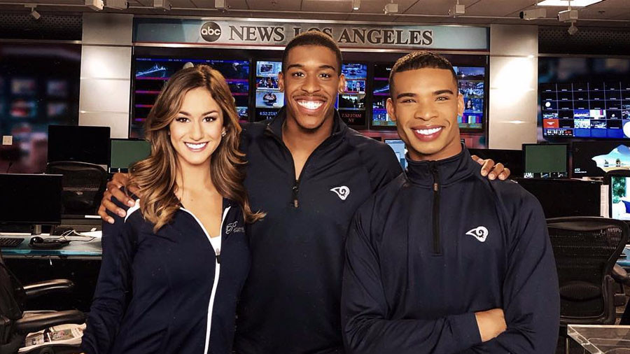 NFL team makes history by hiring male cheerleaders
