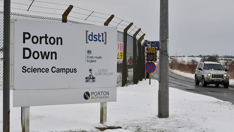 Down & out at Porton Down: Embarrassment for the UK's 'Rush to Blame Russia' brigade