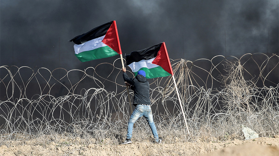 Israel calls in Air Force to target ONE 'armed terrorist' on Gaza border
