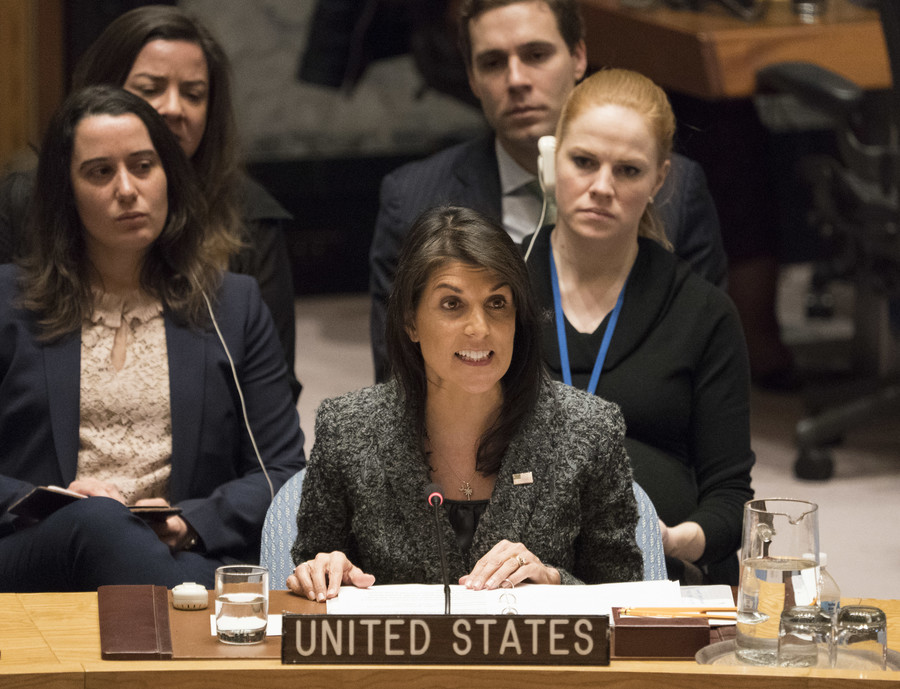 US will act against 'monster' Assad with or without UN ‒ Haley