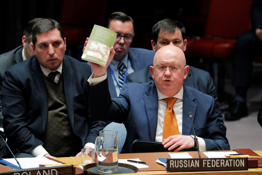 'UK's loudspeaker diplomacy, Skripal mantra & arm-twisting' exposed by Russia's UN envoy