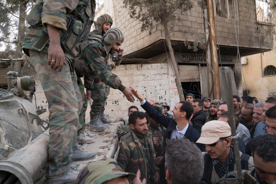 No trace of chemical weapons at alleged attack site in Douma – Russian military