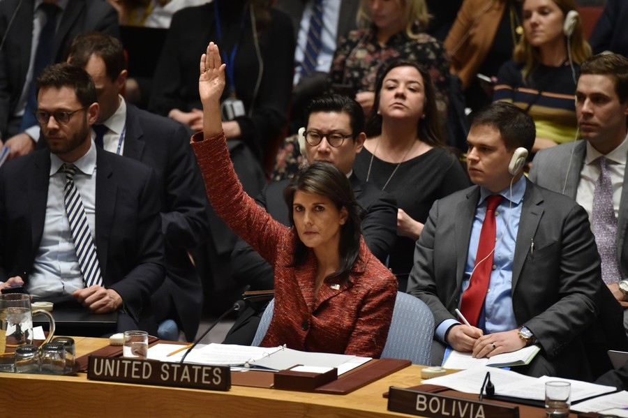 White House walks back Nikki Haley statements on new Russia sanctions