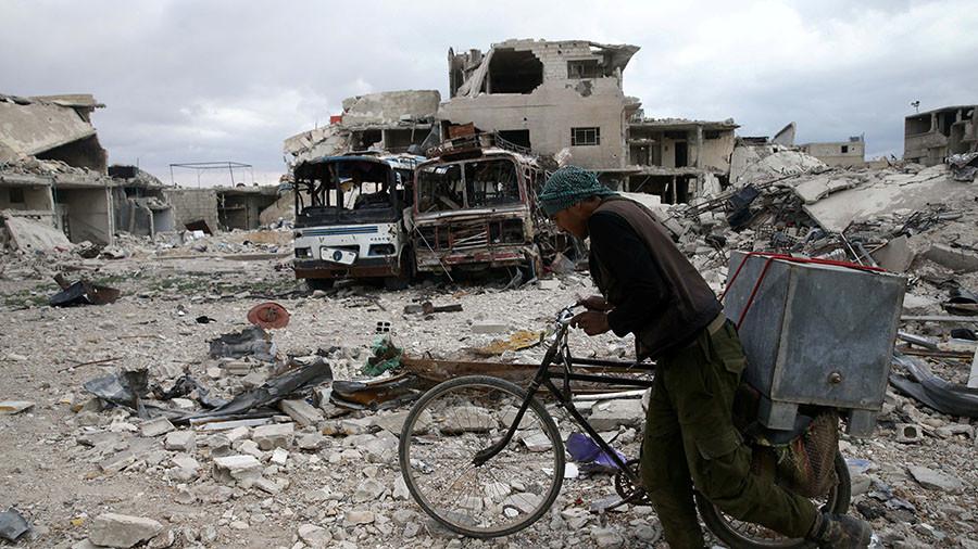 Kremlin calls for restraint in 'already fragile' Syria as West eyes military options