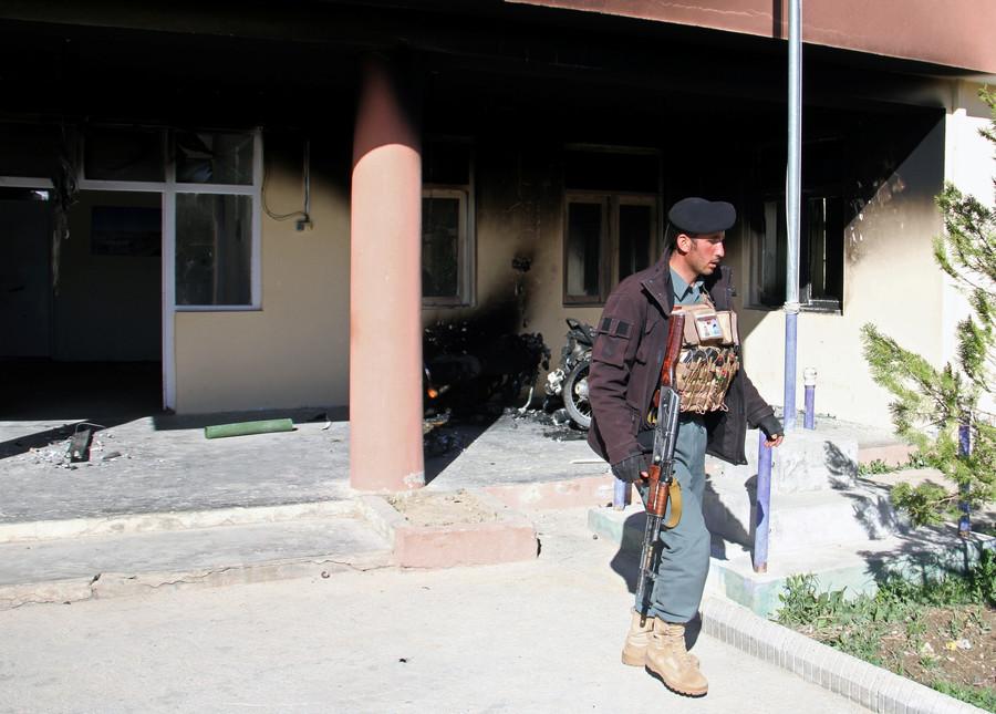 Taliban seize 'safe' Afghan district weeks after Pentagon hailed progress under new Trump strategy
