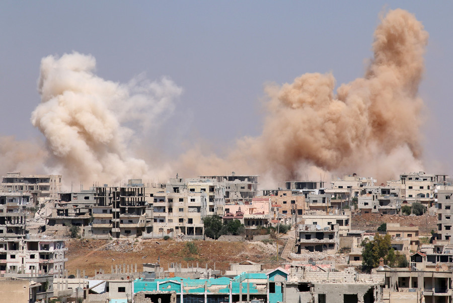 Britons lack appetite for war in Syria: 43% against military strikes, YouGov poll reveals
