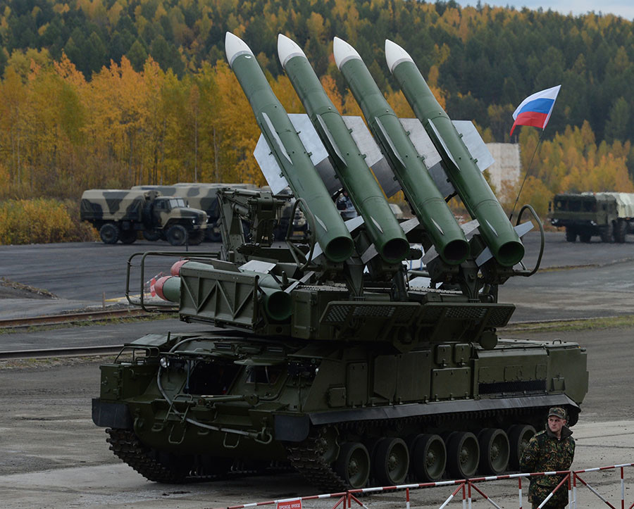 The Buk-M2E missile system. ©Pavel Lisitsyn / Sputnik