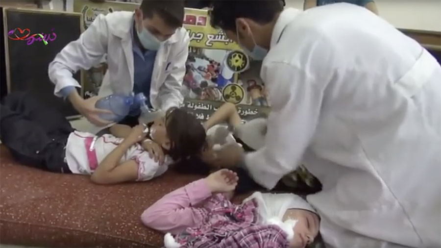 The facts behind the 'staged' video of kids' chemical weapons drill in Syria