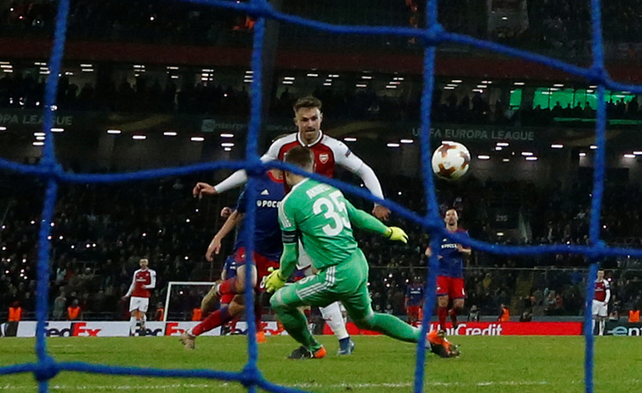 CSKA 2-2 Arsenal (agg. 3-6): Gunners shoot down CSKA comeback dream in Moscow