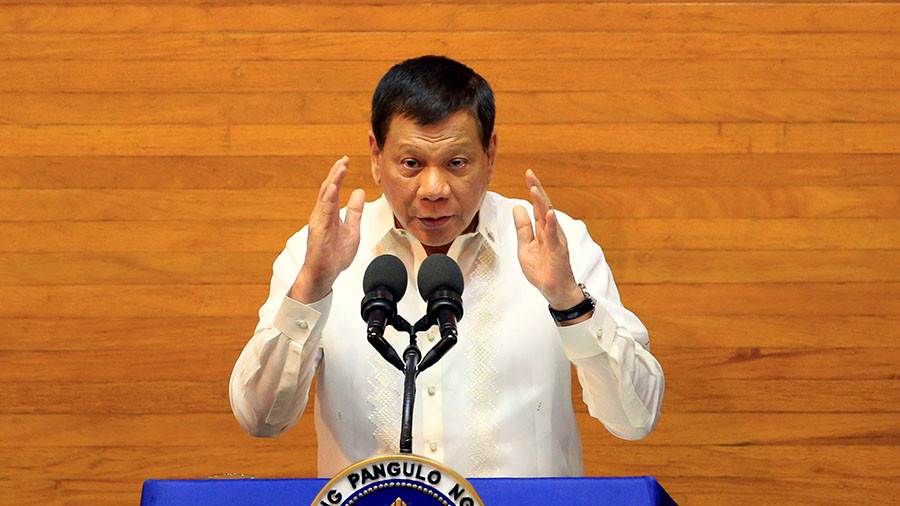 'It's illegal and I will arrest you': Duterte threatens International Criminal Court prosecutor