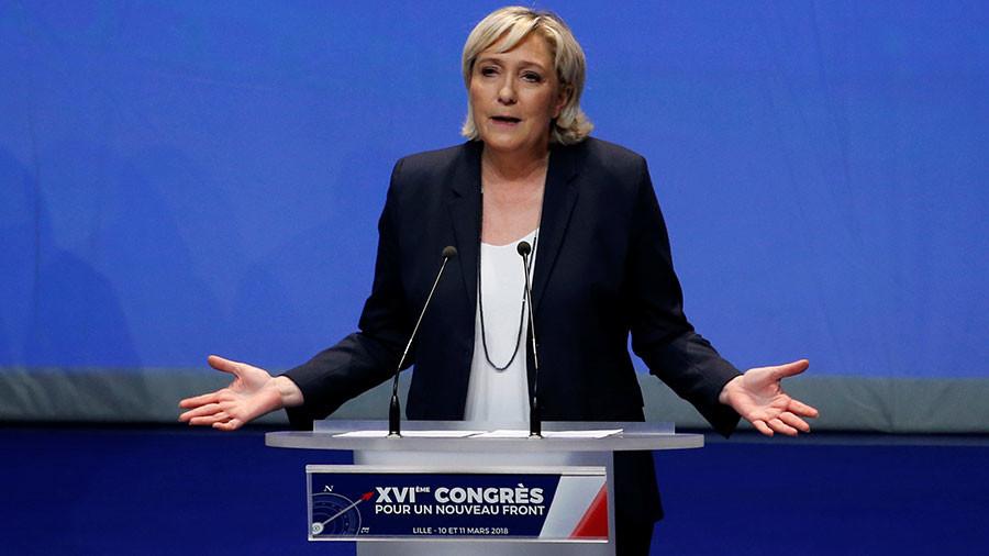 'Unpredictable path': Le Pen slams Macron's order to bomb Syria
