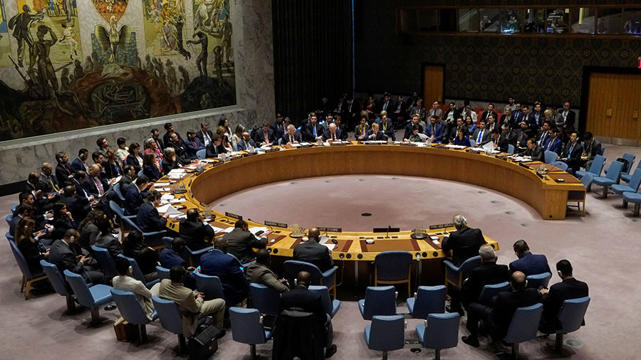 Russia's UNSC resolution calling to stop aggression against Syria does not receive enough votes