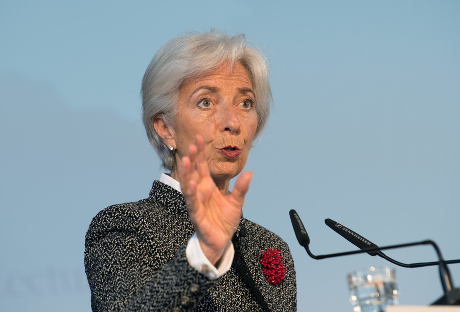 Christine Lagarde news