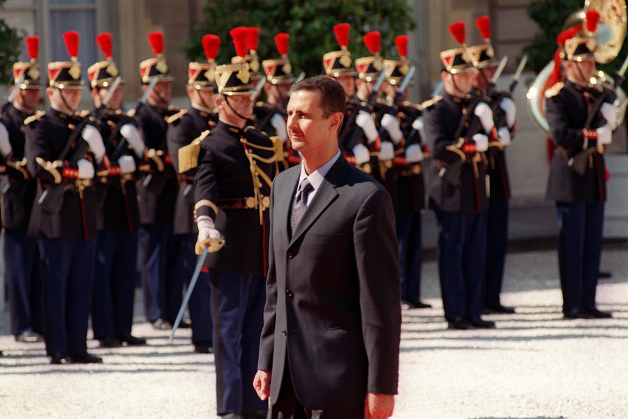 Paris to revoke Assad's Legion of Honor, after bombing 'tyrant' holding France's highest decoration