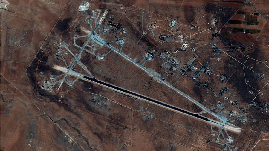 Reports of Monday night attack on Syrian base blamed on false alarm