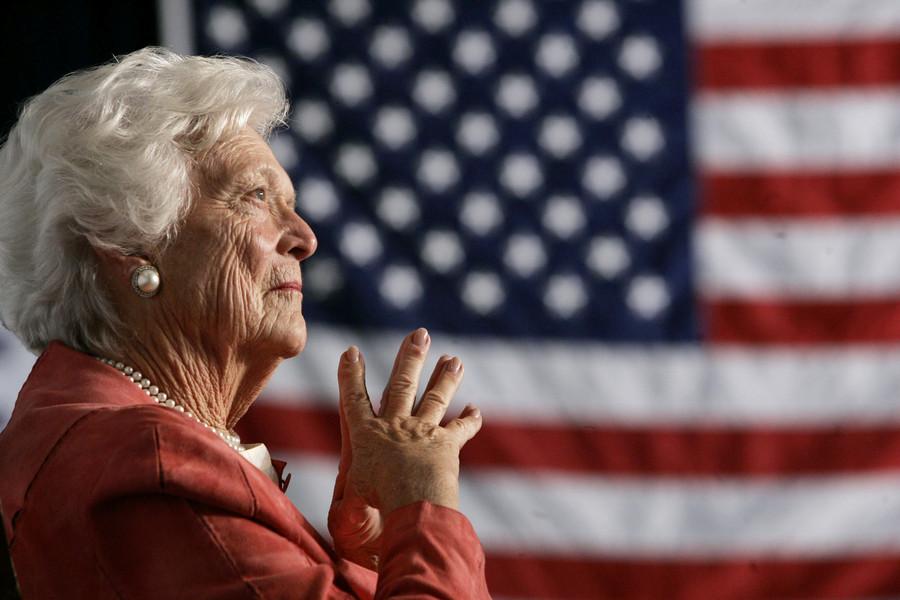 Former US First Lady Barbara Bush dead at 92