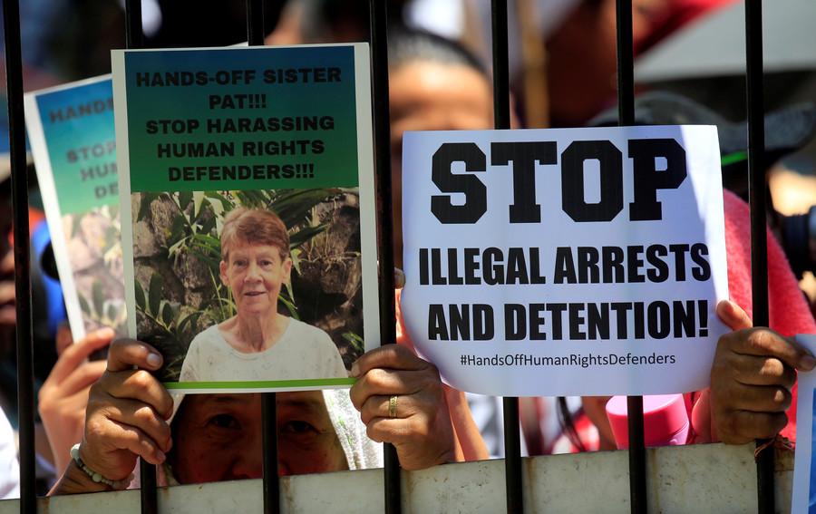 'Do not insult my country': Duterte brands 71yo Aussie nun an 'undesirable alien'