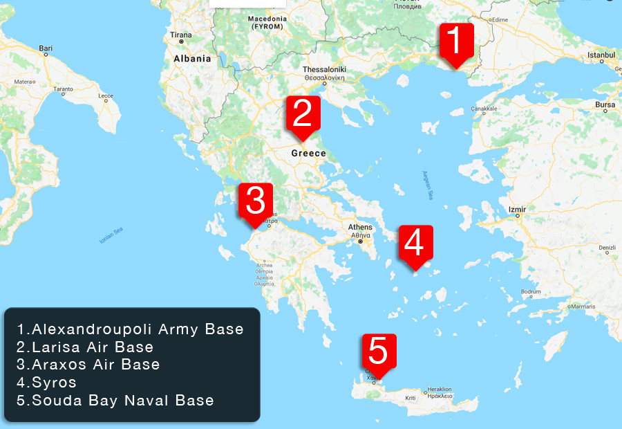 Nato Bases Upgraded Under Anti Migrant Guise Us Nukes Now - Map-of-us-army-bases