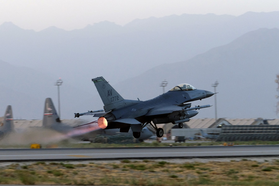 US dropped more bombs on Afghanistan than Syria and Iraq last month