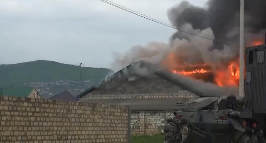 Robots & APCs: Anti-terrorist units eliminate nine militants in Russia's Dagestan (VIDEO)