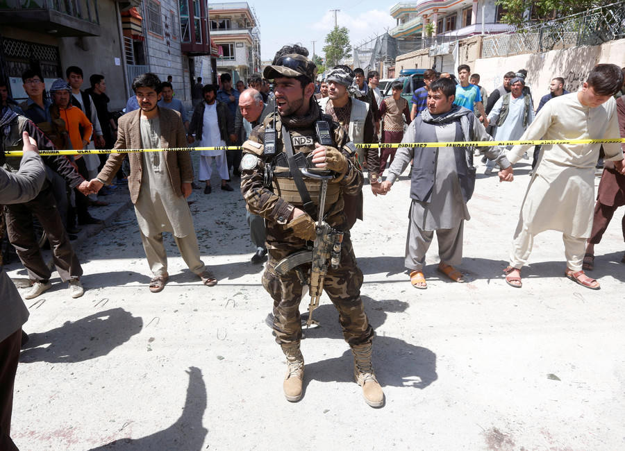 At least 29 killed in twin blast in Kabul – health ministry