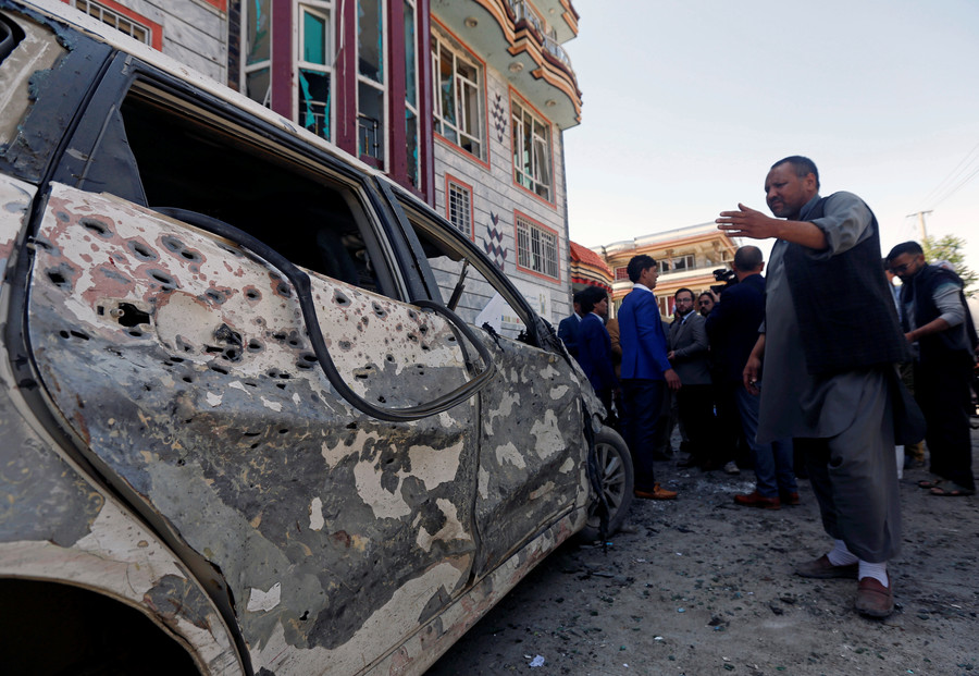 Afghanistan: 63 dead in attacks on voter registration centres