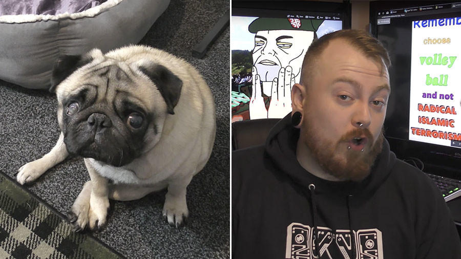 Nazi saluting pug trainer 'Count Dankula' fined for online video