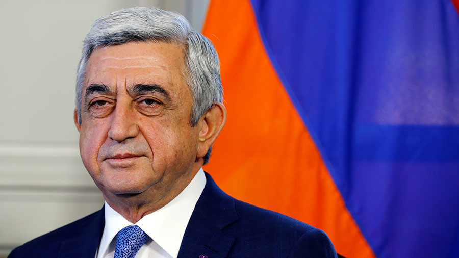 Armenian PM Sargsyan resigns after week of mass protests