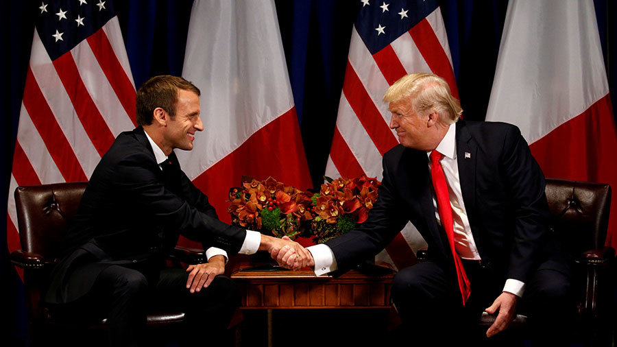 'French connection': Macron & Trump's political bromance blossoming after Syrian strikes