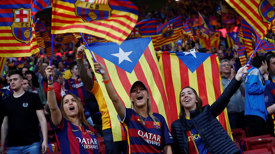 Barcelona fans boo Spain's national anthem in presence of king