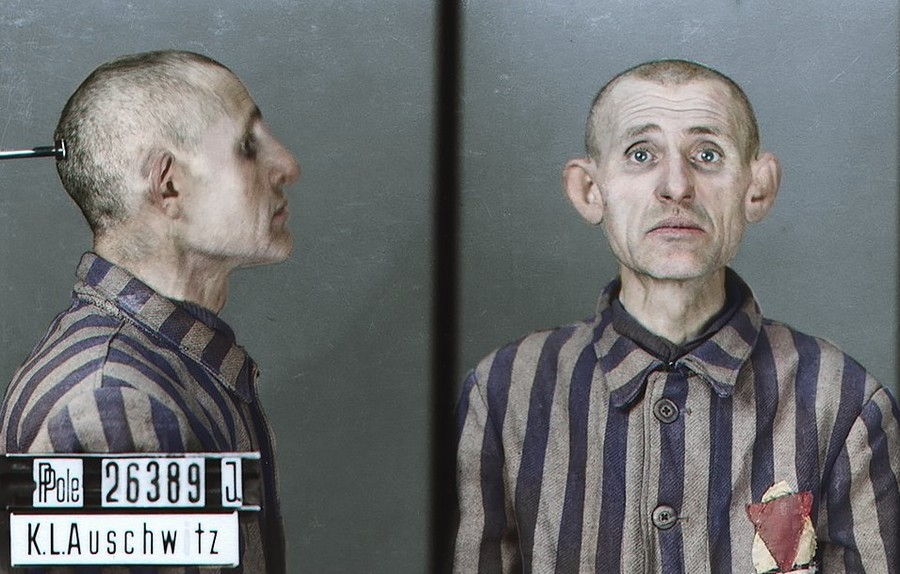 Faces of Auschwitz: New photos capture Hitler's horrors in