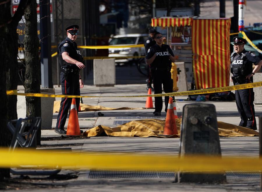 Toronto's van ramming suspect identified as Alek Minassian - police