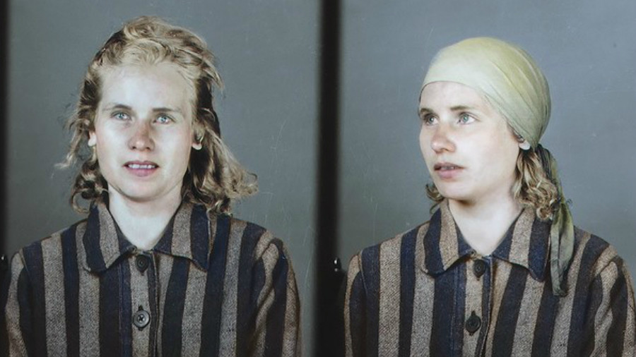 Faces of Auschwitz: New photos capture Hitler's horrors in color (PHOTOS)