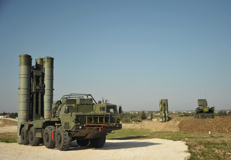 Russia's air defenses destroy targets heading towards Khmeimim in Syria