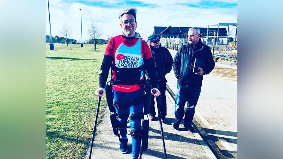 First paralyzed man to finish London marathon denied medal